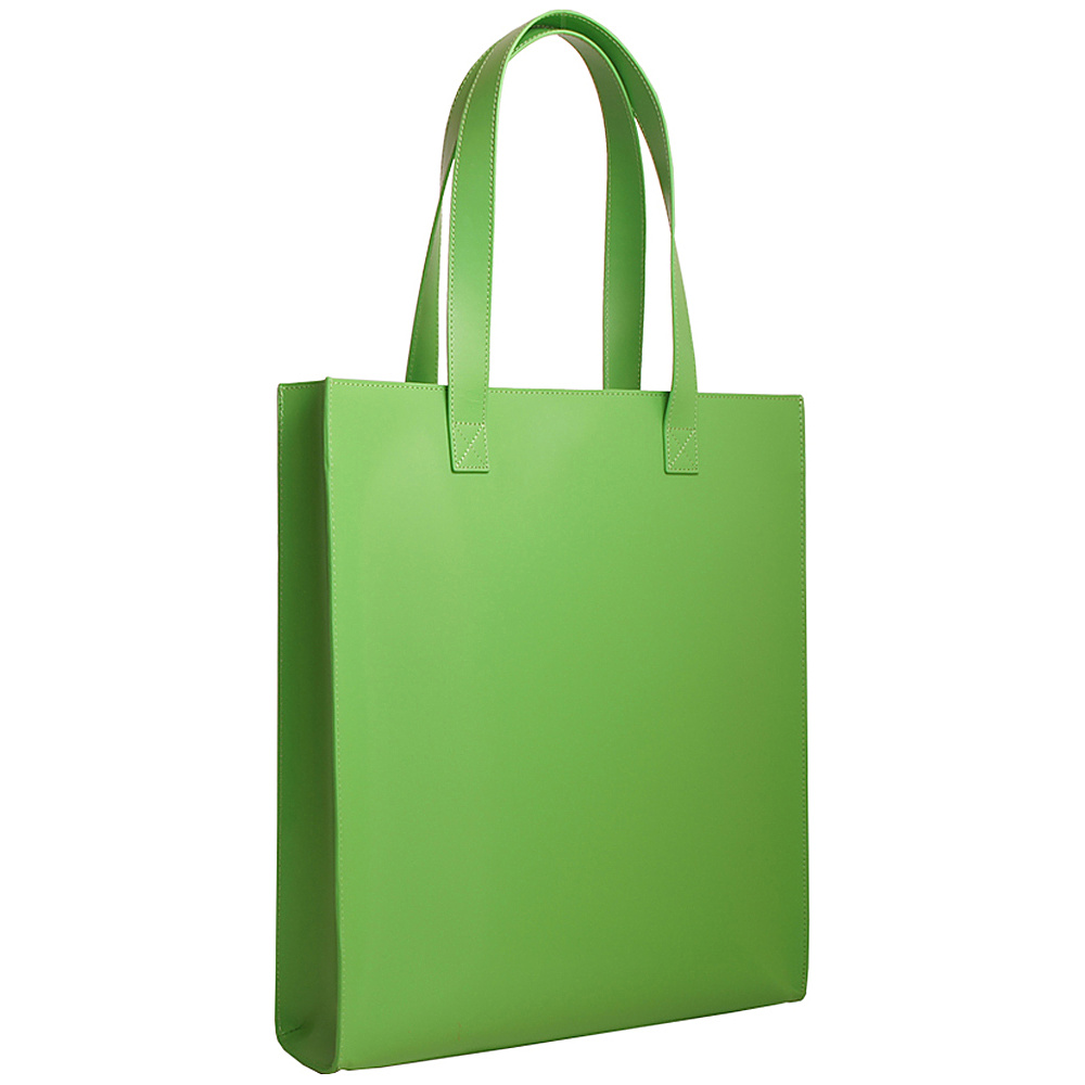 Paperthinks Long Tote Bag Mint Paperthinks Leather Handbags