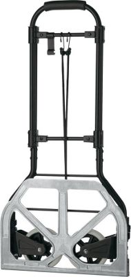Travel Smart by Conair Heavy Duty Luggage Cart Black/Silver - Travel Smart by Conair Luggage Accessories
