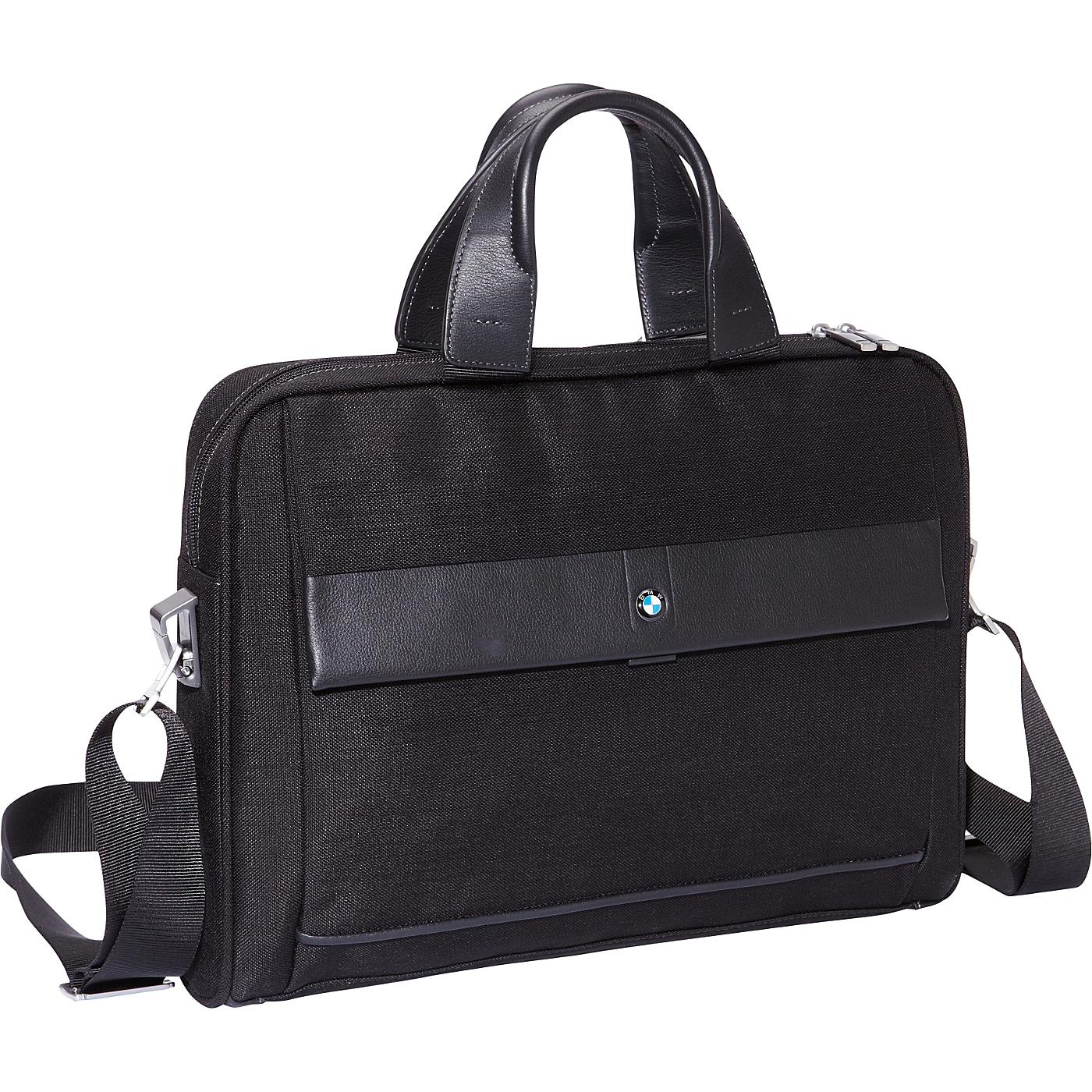 Slim Toploader Black   BMW Luggage Non Wheeled Computer Cases