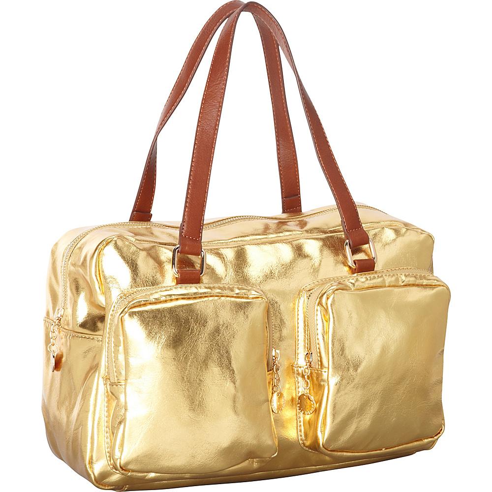 Melie Bianco Sally Gold - Melie Bianco Manmade Handbags