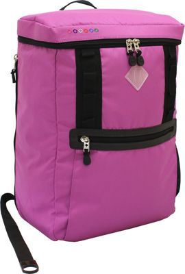 J World New York Rectan Laptop Backpack Orchid - J World New York Business & Laptop Backpacks