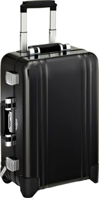 Zero Halliburton Classic Aluminum Carry On 2 Wheel Travel Case Black - Zero Halliburton Hardside Carry-On