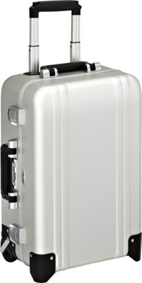 Zero Halliburton Classic Aluminum Carry On 2 Wheel Travel Case Silver - Zero Halliburton Hardside Carry-On