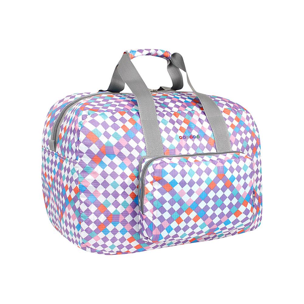 J World New York Buena Duffel Bag CHECKMATE - J World New York Travel Duffels - Duffels, Travel Duffels
