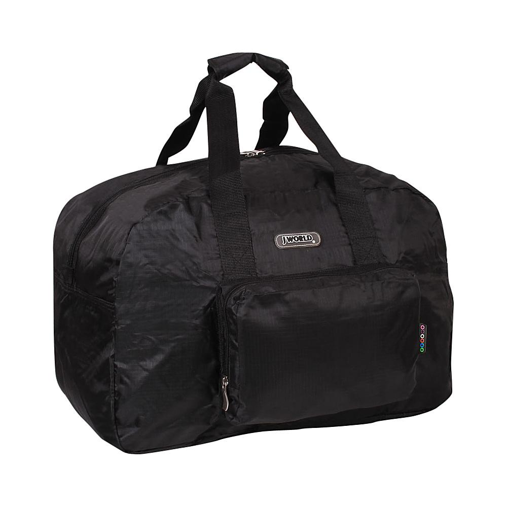 J World New York Buena Duffel Bag Black - J World New York Travel Duffels - Duffels, Travel Duffels