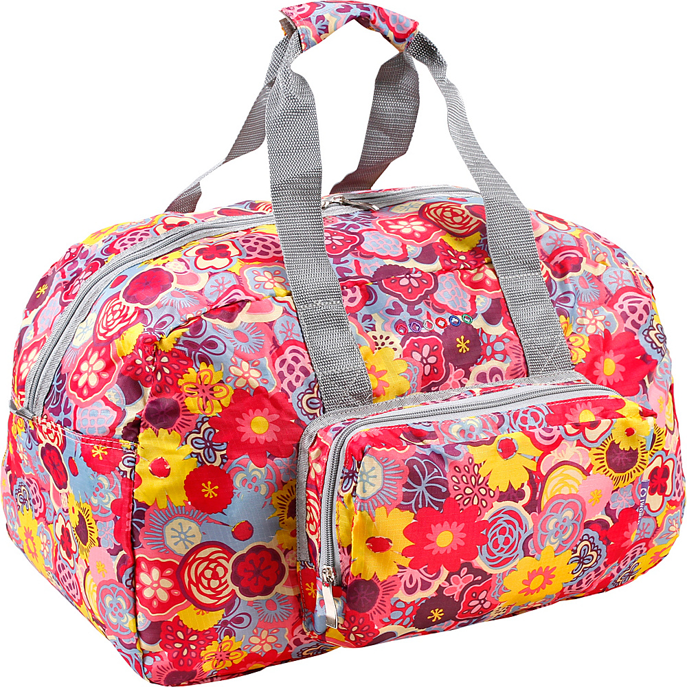 J World New York Buena Duffel Bag POPPY PANSY - J World New York Travel Duffels - Duffels, Travel Duffels