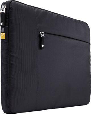 Case Logic 15 inch MacBook Pro Sleeve + Pocket Black - Case Logic Electronic Cases