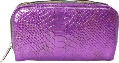 LeSportsac Rectangular Cosmetic Bag Purple Snake - LeSportsac Ladies Cosmetic Bags