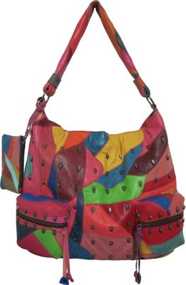AmeriLeather QMetal Mini Skulls Rainbow - AmeriLeather Leather Handbags