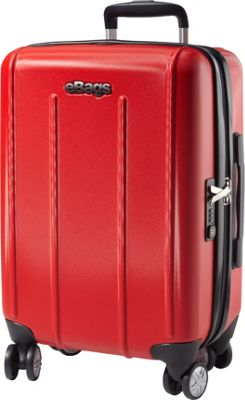 eBags EXO 2.0 Hardside Spinner Carry-On Red - eBags Hardside Carry-On