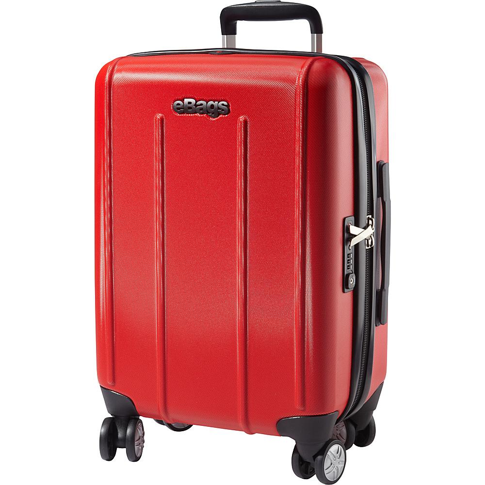 eBags EXO 2.0 Hardside Spinner Carry On Red eBags Hardside Carry On