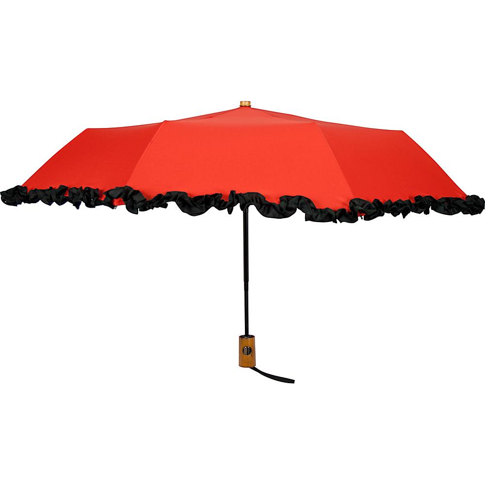 Leighton Umbrellas Ruffles red Leighton Umbrellas Umbrellas and Rain Gear