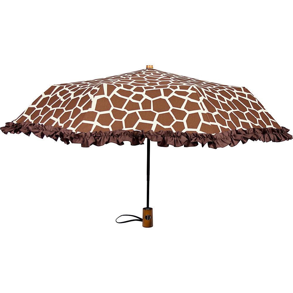 Leighton Umbrellas Ruffles giraffe Leighton Umbrellas Umbrellas and Rain Gear