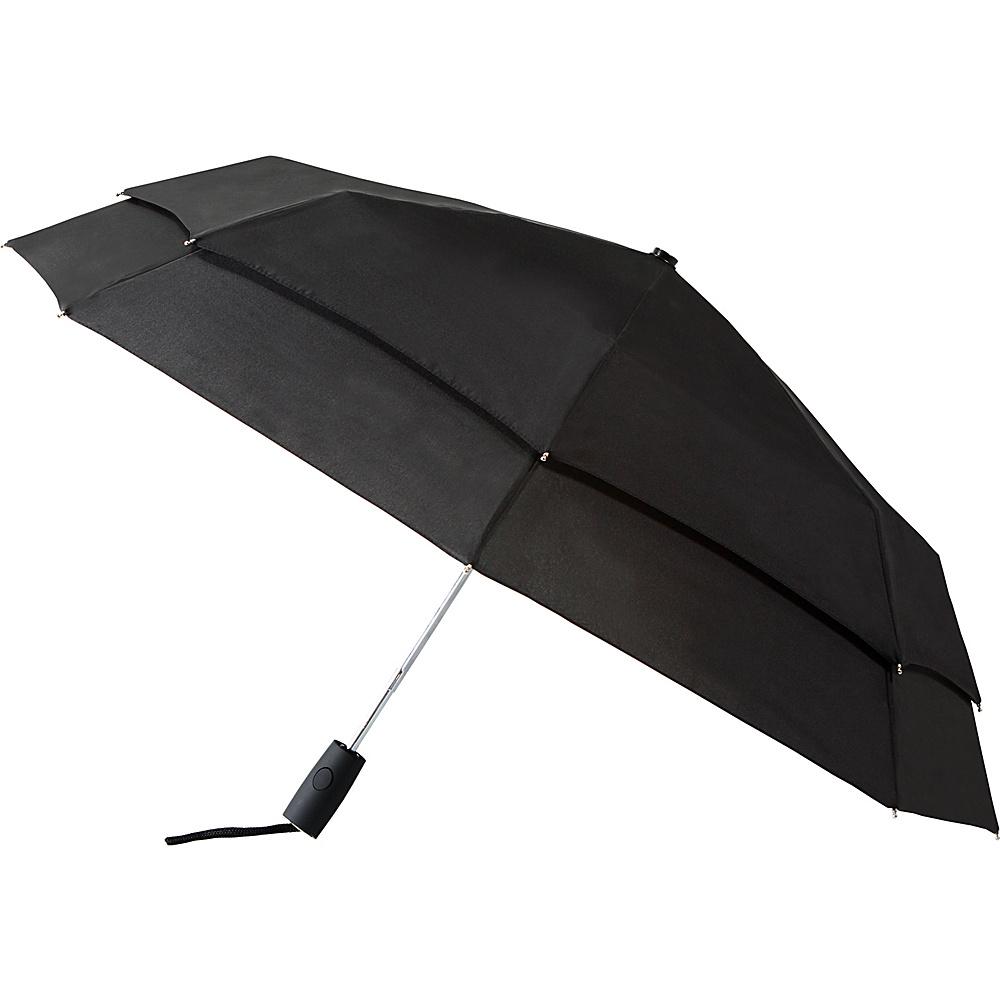Leighton Umbrellas Falcon black white Leighton Umbrellas Umbrellas and Rain Gear