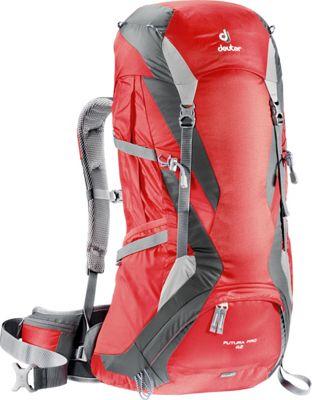 Deuter Futura Pro 42 Fire/Granite - Deuter Day Hiking Backpacks