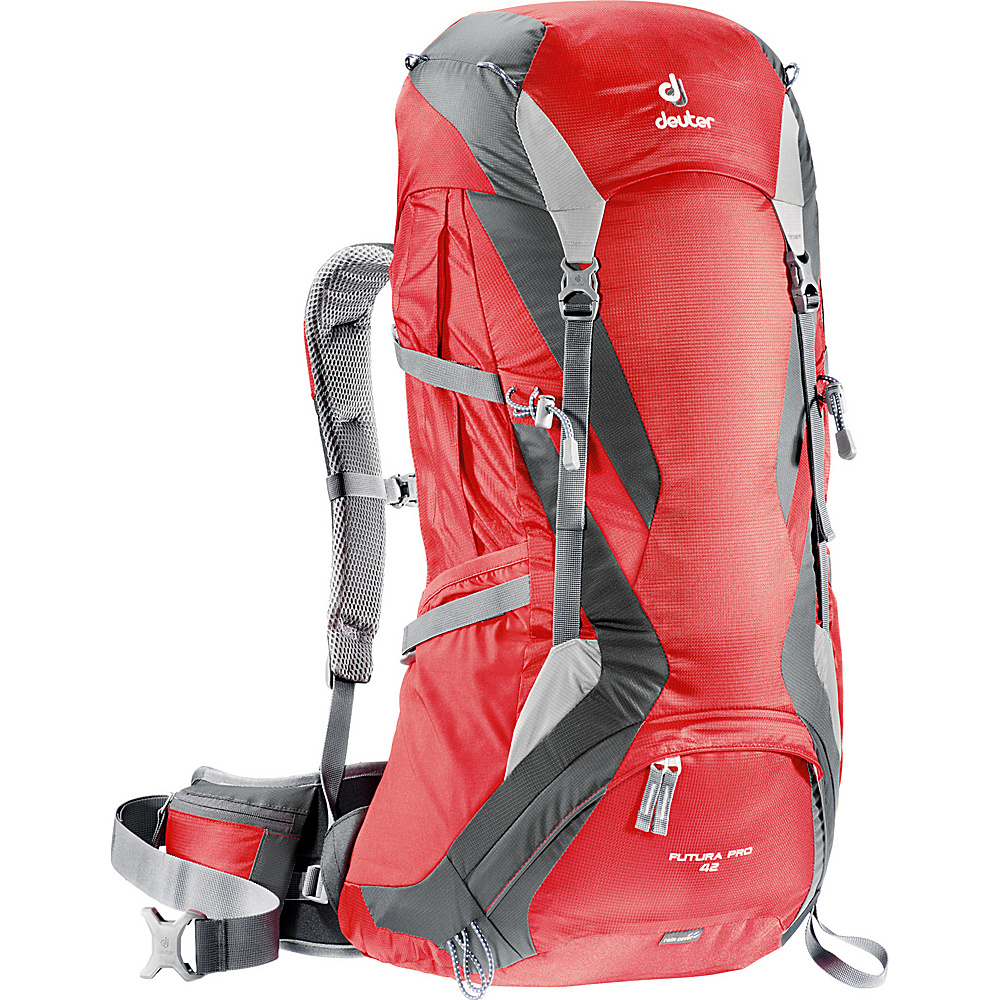 Deuter Futura Pro 42 Fire Granite Deuter Day Hiking Backpacks
