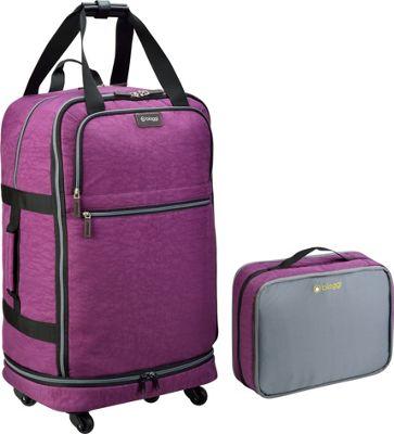 biaggi ZipSak 27 inch MicroFold Upright Purple - biaggi Travel Duffels