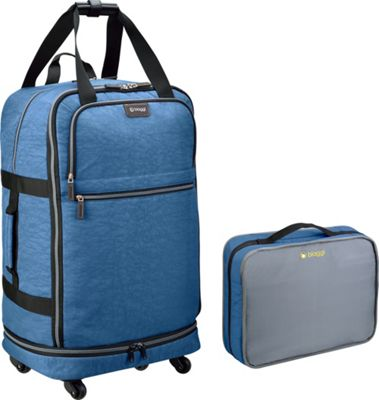 biaggi ZipSak 27 inch MicroFold Upright Winter Blue - biaggi Travel Duffels