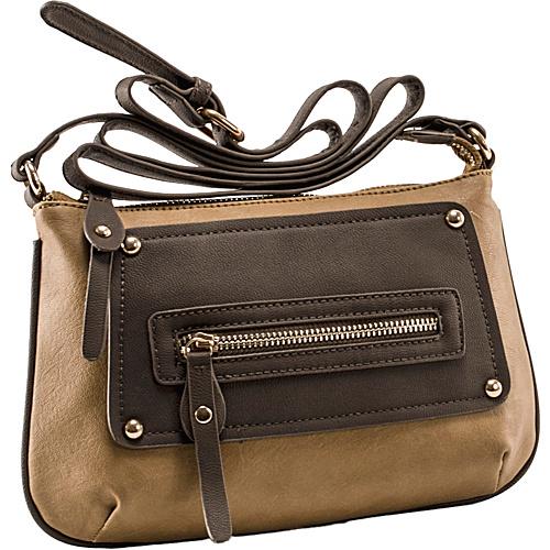 Parinda Sari Coffee Tan - Parinda Manmade Handbags