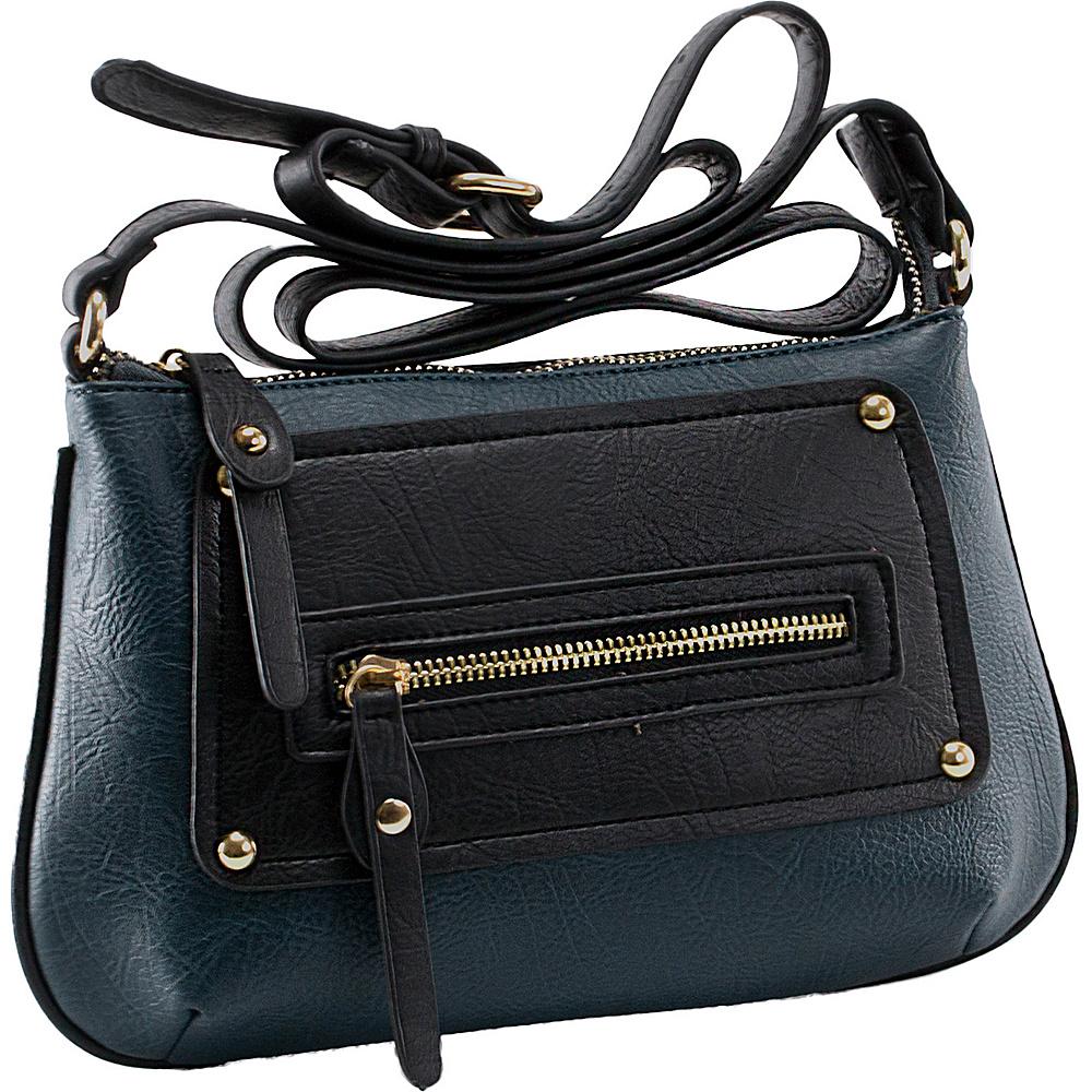 Parinda Sari Navy - Parinda Manmade Handbags