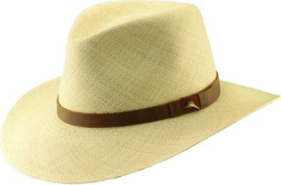 Tommy Bahama Headwear Tommy Bahama Headwear Panama Outback W/Lthr S/M - Natural - Tommy Bahama Headwear Hats/Gloves/Scarves