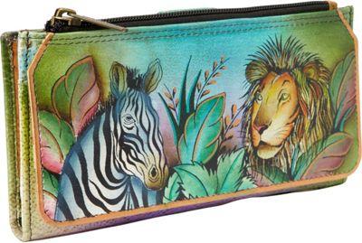 Anuschka Organizer Wallet/ Clutch African Adventure - Anuschka Women's Wallets