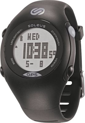 Soleus GPS Mini Black/Grey - Soleus Watches