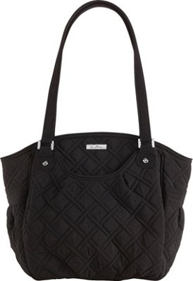 Vera Bradley Glenna Shoulder Bag - Solids Black - Vera Bradley Fabric Handbags
