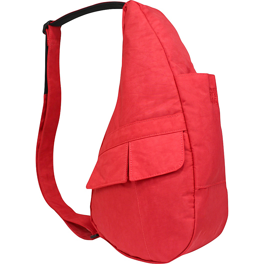 AmeriBag Healthy Back Bag evo Distressed Nylon Extra Small Raspberry Wine - AmeriBag Fabric Handbags