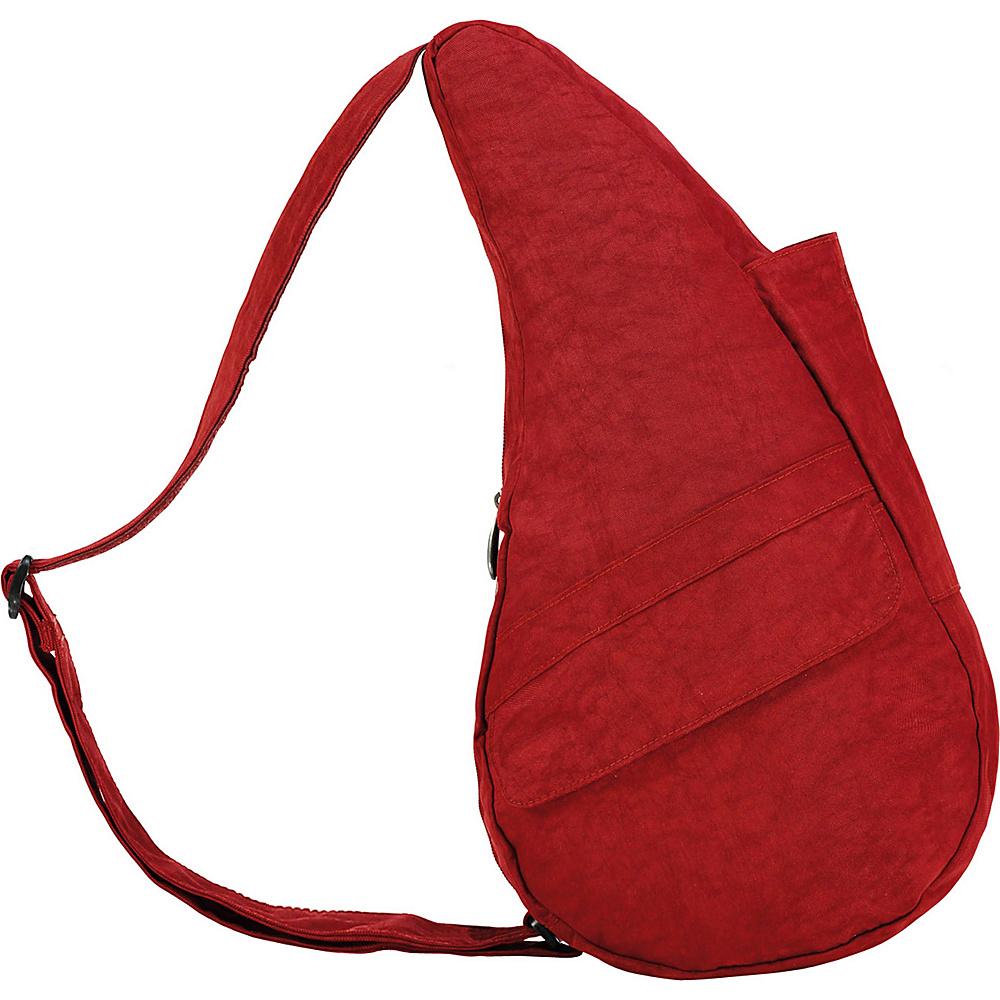 AmeriBag Healthy Back Bag  Distressed Nylon Extra - Backpack Handbags - Handbags, Fabric Handbags