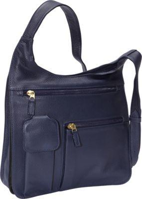 J. P. Ourse & Cie. Traveler Indigo - J. P. Ourse & Cie. Leather Handbags