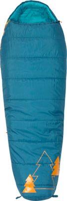 Kelty Little Tree 20 Degree Sleeping Bag - Short Right-Hand Ocean - Kelty Outdoor Accessories