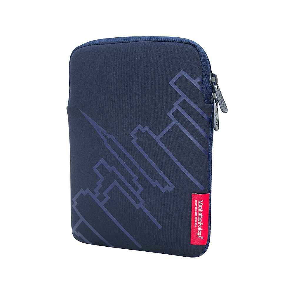 Manhattan Portage Skyline iPad Mini 8 Sleeve Navy - Manhattan Portage Electronic Cases - Technology, Electronic Cases