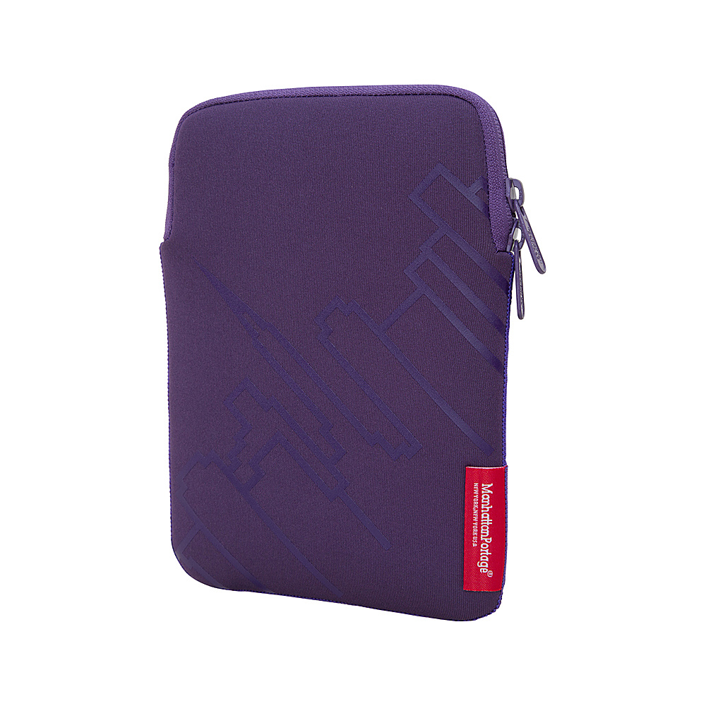 Manhattan Portage Skyline iPad Mini 8 Sleeve Purple - Manhattan Portage Electronic Cases - Technology, Electronic Cases