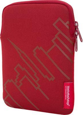 Manhattan Portage Skyline iPad Mini 8' Sleeve Red - Manhattan Portage Electronic Cases
