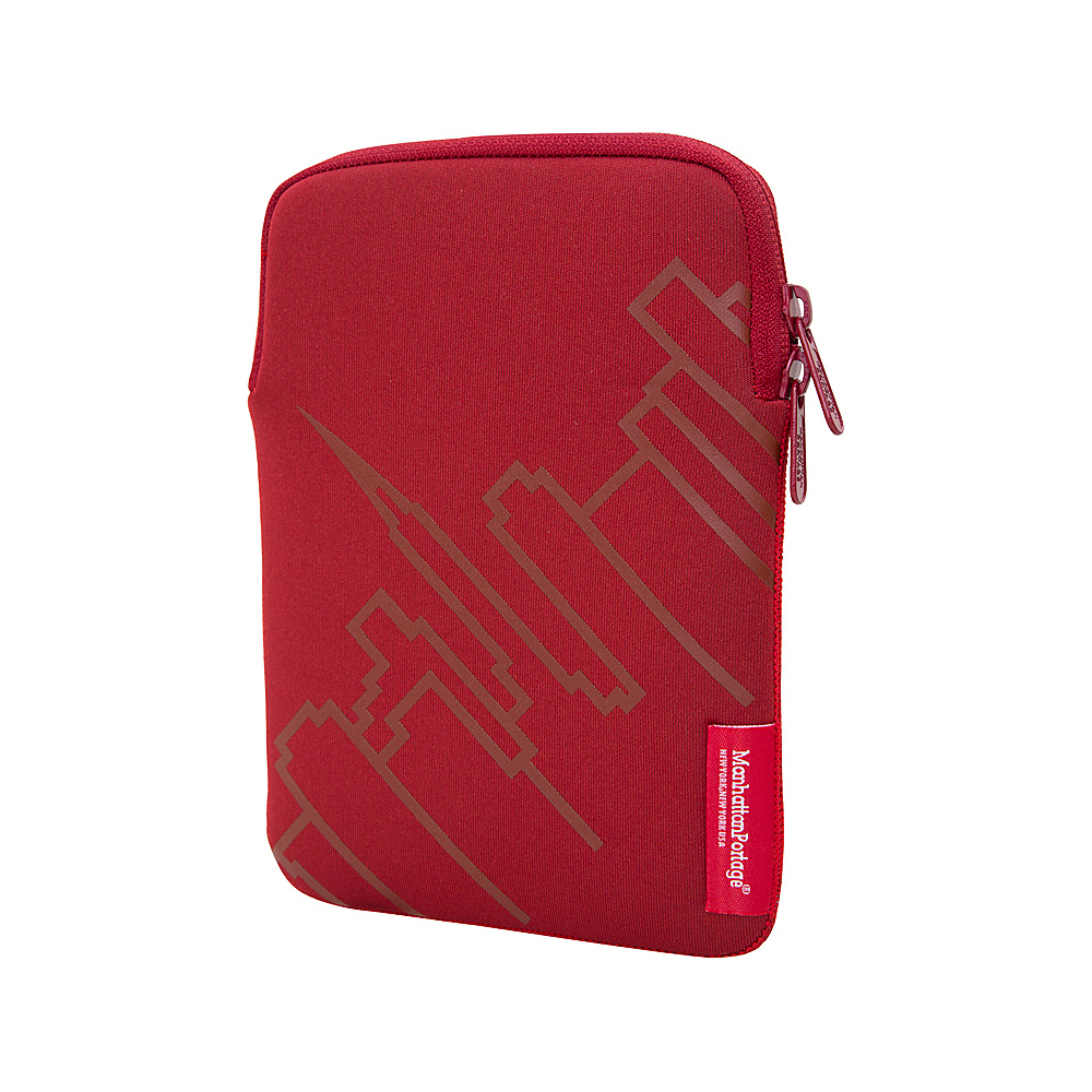 Manhattan Portage Skyline iPad Mini 8 Sleeve Red - Manhattan Portage Electronic Cases - Technology, Electronic Cases