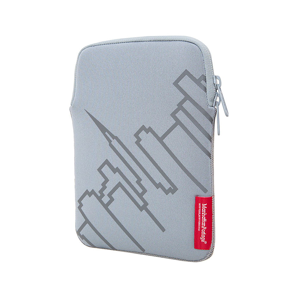 Manhattan Portage Skyline iPad Mini 8 Sleeve Silver - Manhattan Portage Electronic Cases - Technology, Electronic Cases