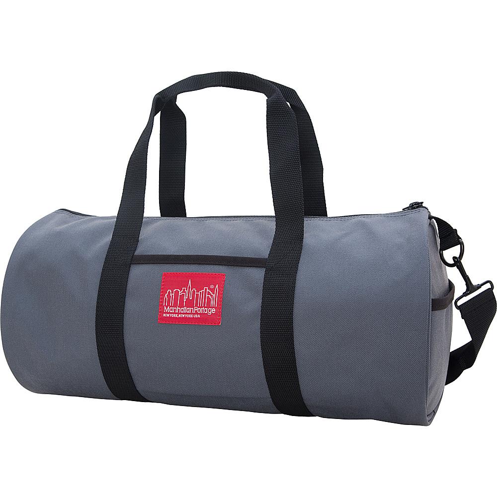 Manhattan Portage Chelsea Drum Bag (MD) Gray - Manhattan Portage Travel Duffels - Duffels, Travel Duffels