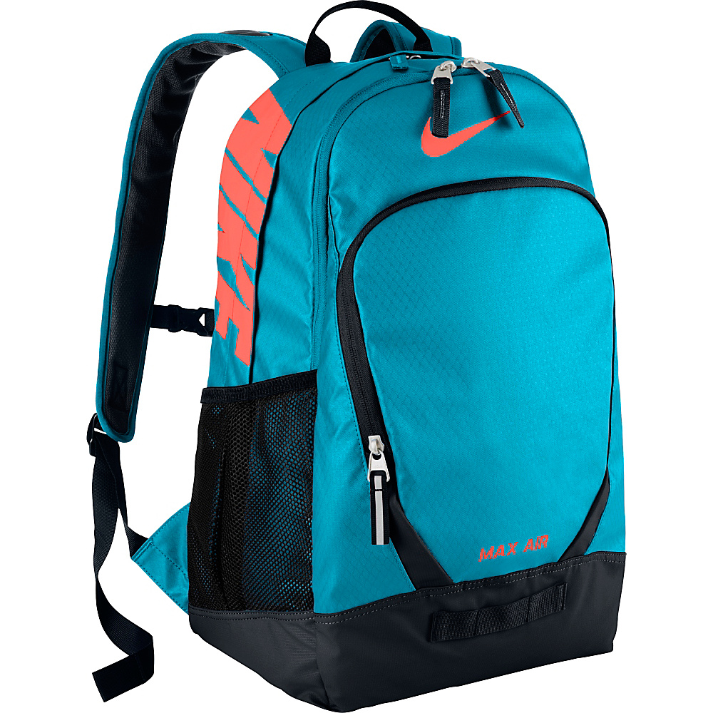UPC 885259522349 product image for Nike Team Training Max Air Large  Backpack Blue Lagoon Black ... e287d55c3a66f