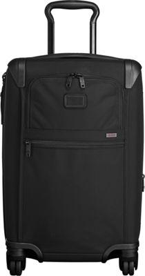 Tumi Alpha 2 International Expandable 4 Wheeled Carry-On Black - Tumi Softside Carry-On