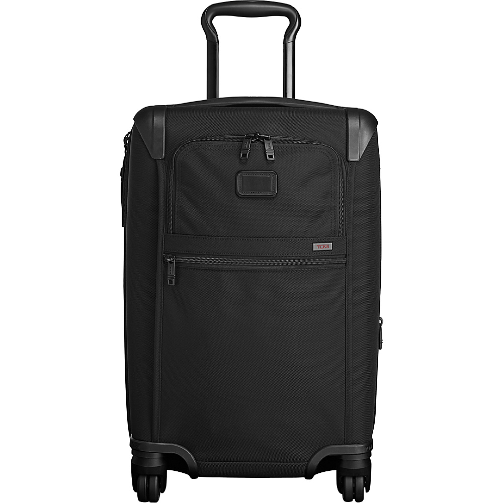 Tumi Alpha 2 International Expandable 4 Wheeled Carry-On Black - Tumi Softside Carry-On