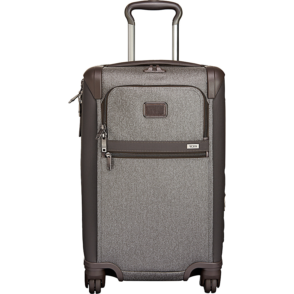 Tumi Alpha 2 International Expandable 4 Wheeled Carry-On Earl Grey - Tumi Softside Carry-On