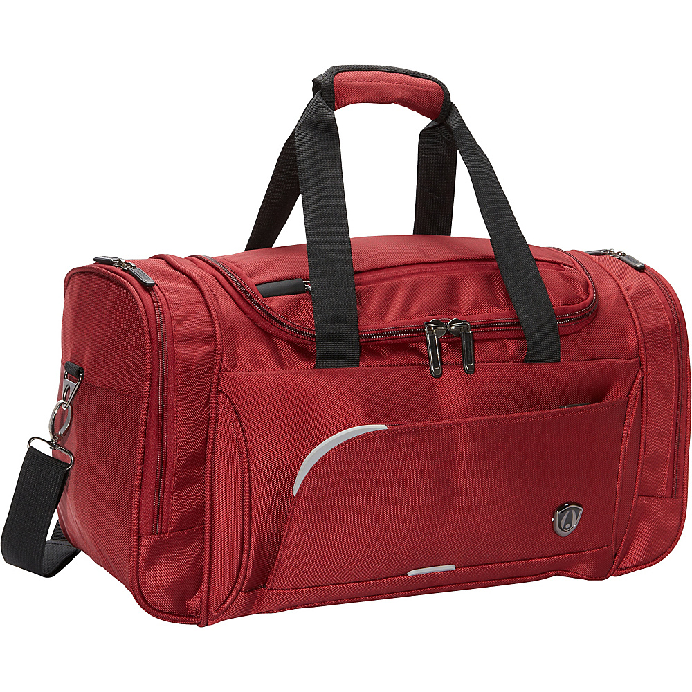 "Traveler's Choice Birmingham 21"" Travel Duffel Bag Red - Traveler's Choice Rolling Duffels"
