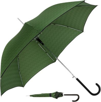 ShedRain ShedRain Auto Stick Umbrella Ava Emerald/Black Binding - ShedRain Umbrellas and Rain Gear