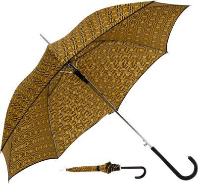 ShedRain Auto Stick Umbrella Peacock/Black Binding - ShedRain Umbrellas and Rain Gear