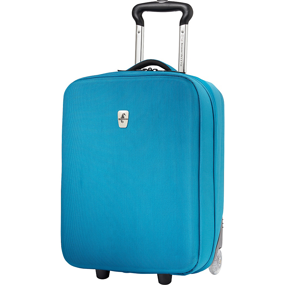 """Atlantic Debut 20"""" Carry-On Upright Luggage Turquoise - Atlantic Softside Carry-On"""