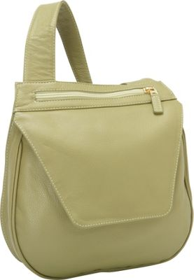 J. P. Ourse & Cie. Yellowstone Collection Ranger Shoulder Bag Kiwi - J. P. Ourse & Cie. Leather Handbags