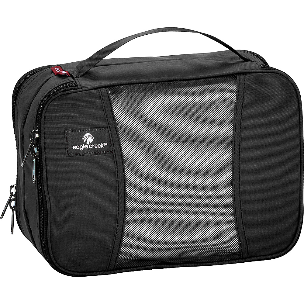 Eagle Creek Pack-It Clean Dirty Half Cube Black - Eagle Creek Travel Organizers - Travel Accessories, Travel Organizers