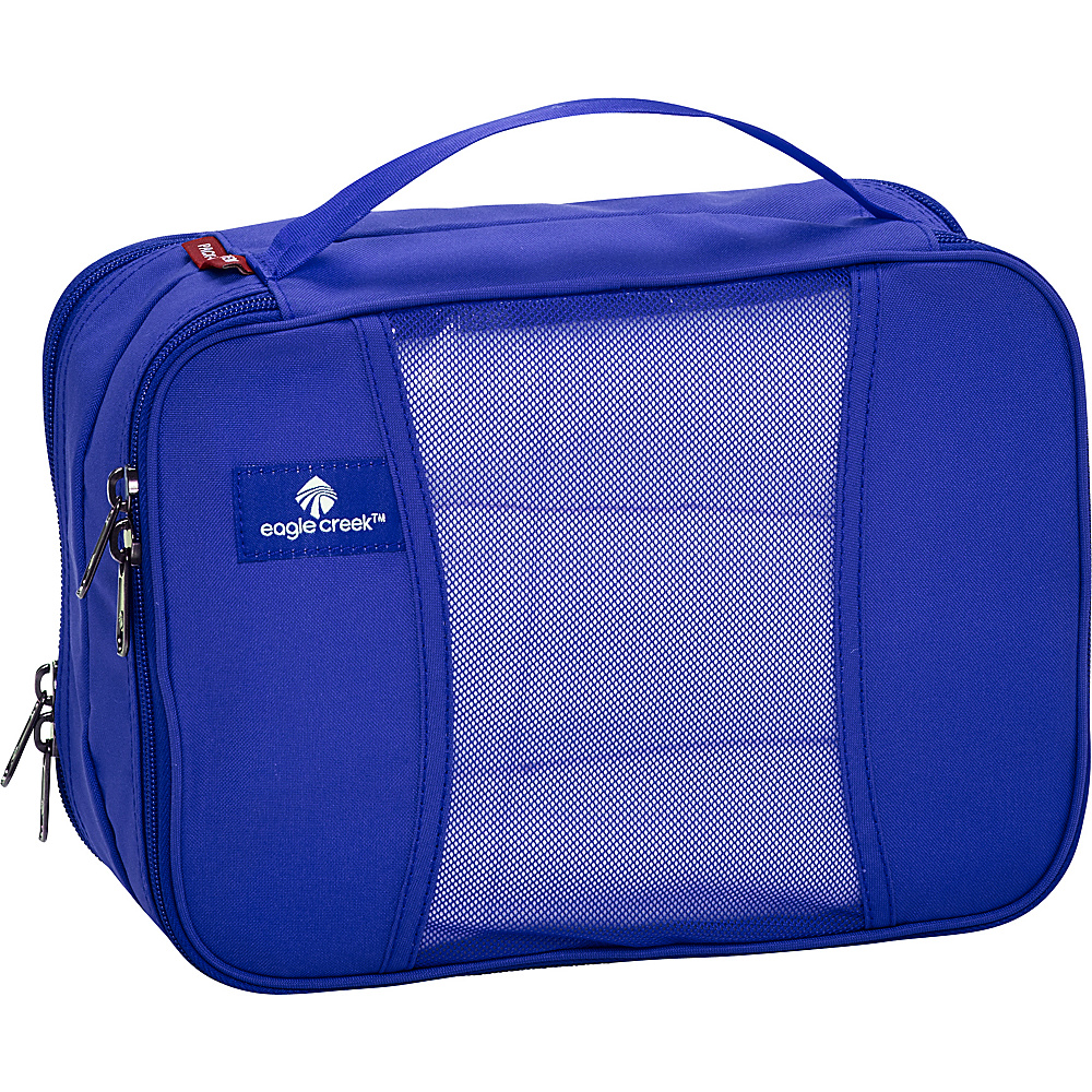 Eagle Creek Pack-It Clean Dirty Half Cube Blue Sea - Eagle Creek Travel Organizers - Travel Accessories, Travel Organizers