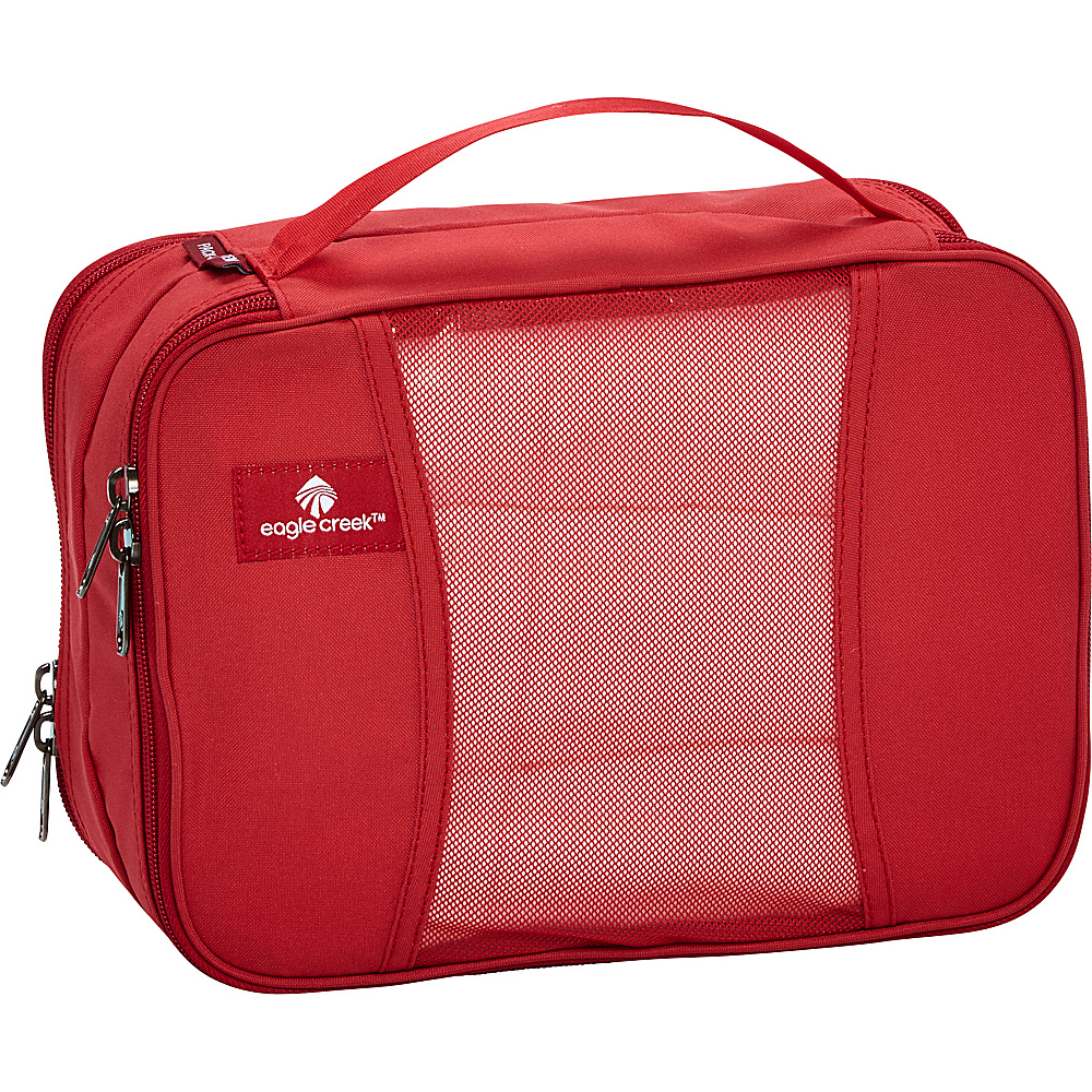 Eagle Creek Pack-It Clean Dirty Half Cube Red Fire - Eagle Creek Travel Organizers - Travel Accessories, Travel Organizers